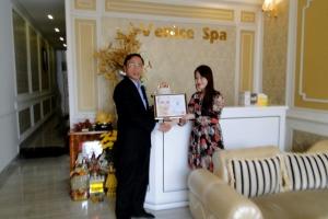 Sự kiện trao chứng nhận Đại lý bán hàng Spa Venice